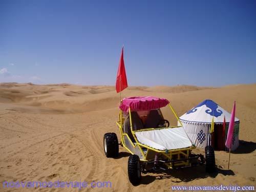 desierto para turistas