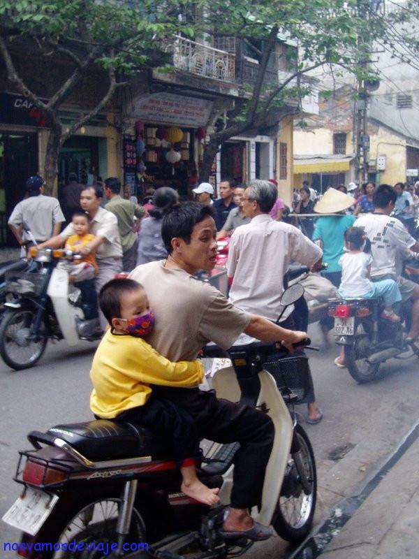 Trafico en Hanoi
