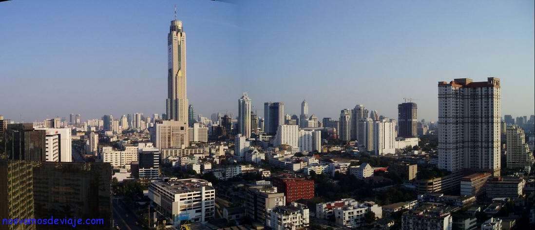 Bangkok desde casa de Doeng