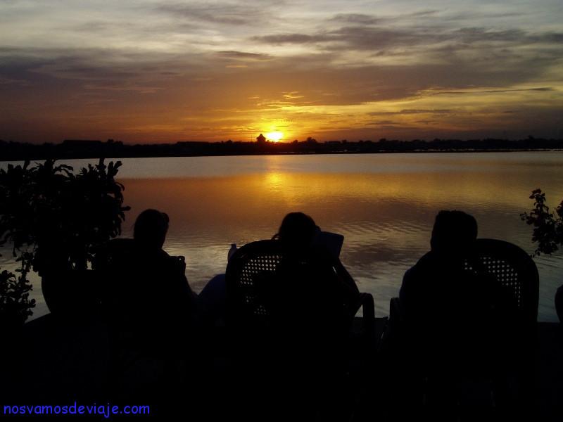 atardecer en Phnom Penh