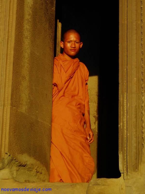Monje budista Angkor