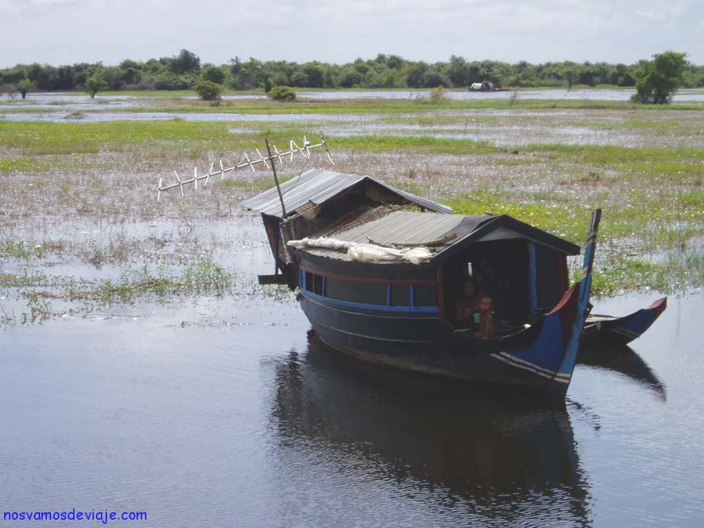 Casa barca Tonle Seap