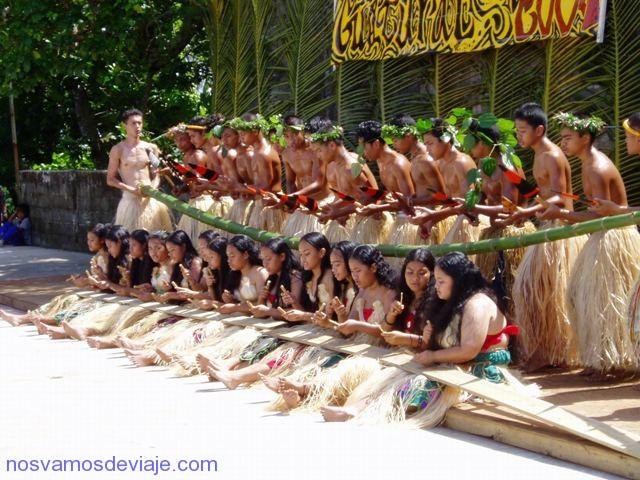 Baile típico de Ponape