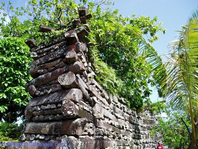 Detalle de Nan Madol, Ponape