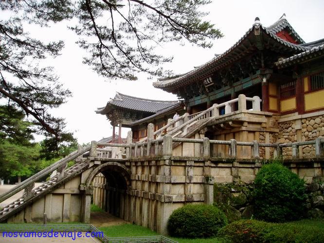 Escaleras Bulguksa Gyeongju