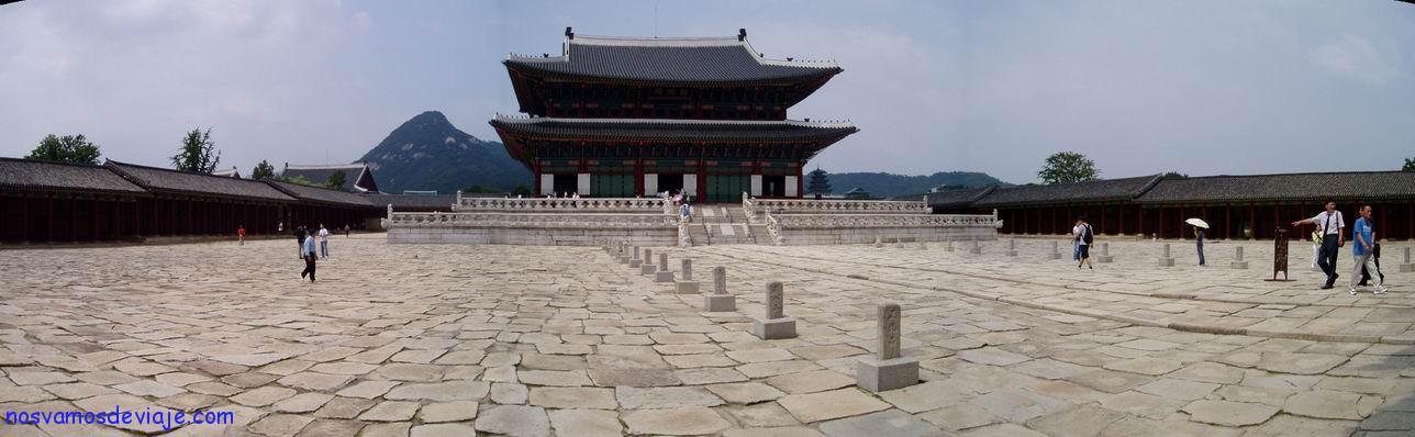 Genjeongjeon, Palacio de Gyeongbokgung, Seul