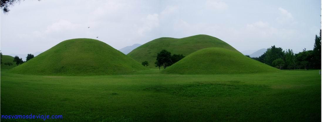 Tumbas de los Reyes de Silla, Gyeongju