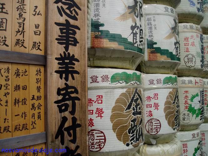 Barriles de sake