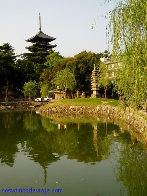 Pagoda cinco pisos Nara