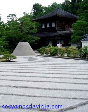 Jardines Zen en Ginkaku ji Kyoto