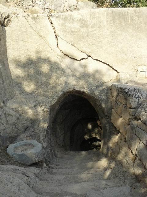 Arsameia, entrada del templo cueva