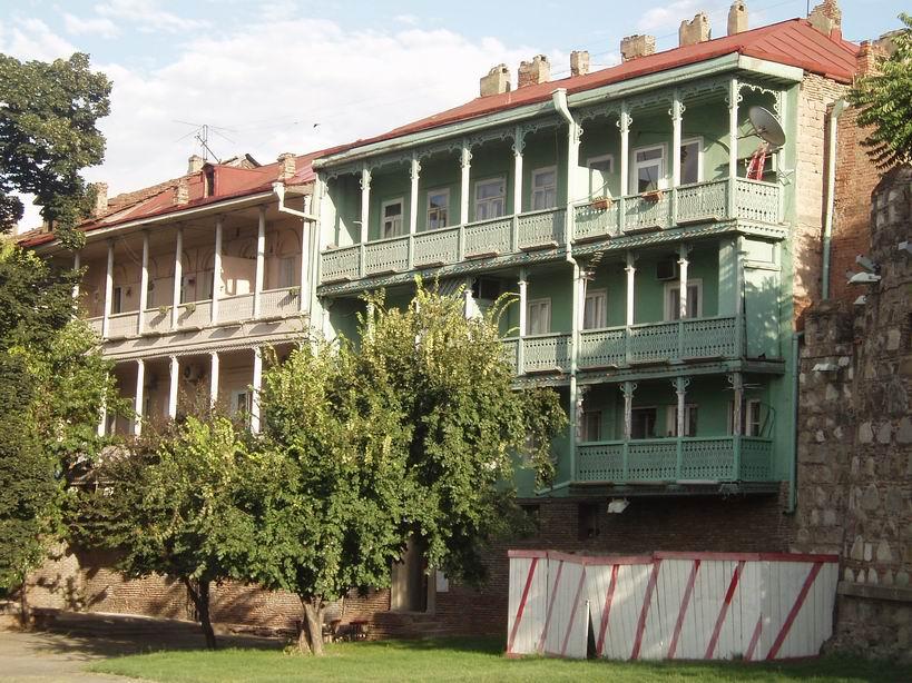 Casas del centro de Tbilisi