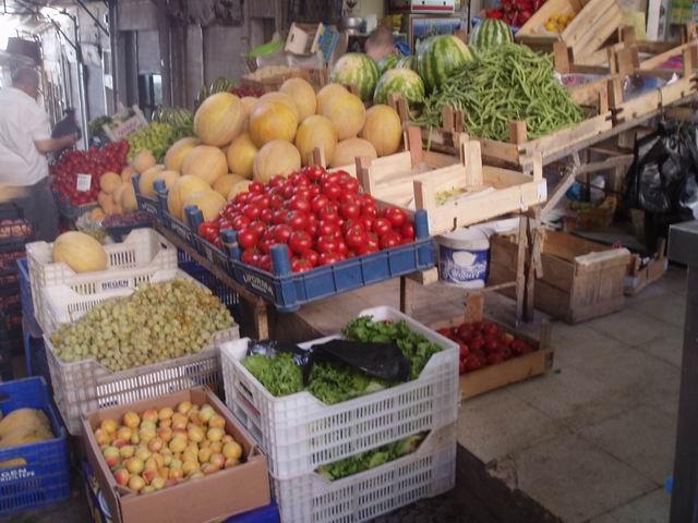 Frutas y Verduras en cualquier bazar