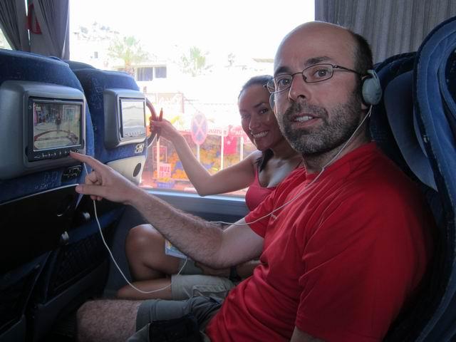 Tecnología turca en el bus