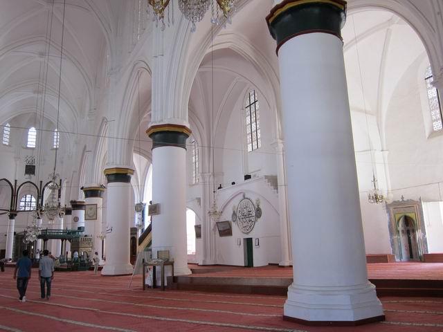 Mezquita Seleniye en la parte turca de Nicosia