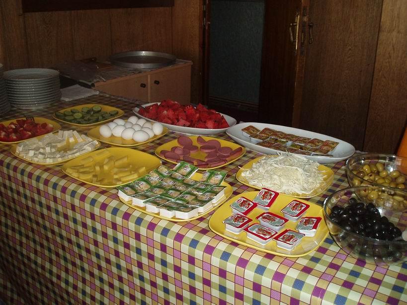 Desayuno típico turco