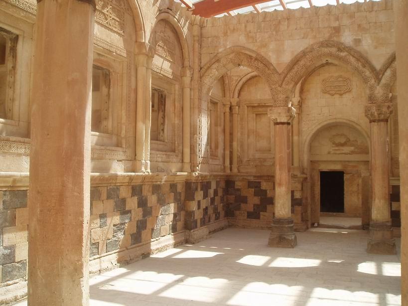 Salón del Palacio Ishak Pasa