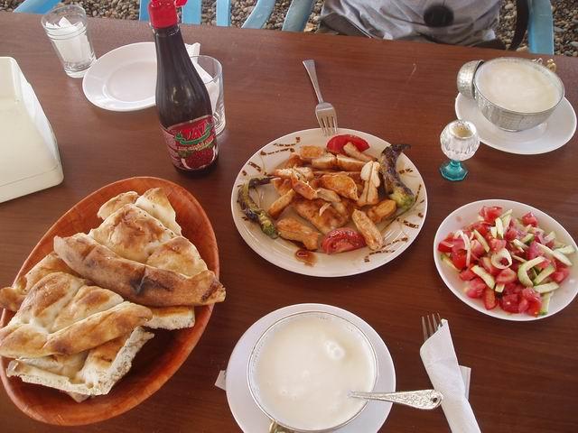 Típica comida turca.