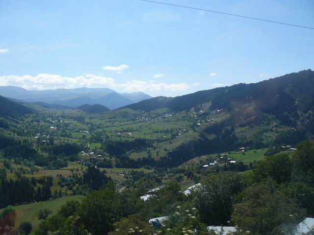 Valles cerca de Artvin