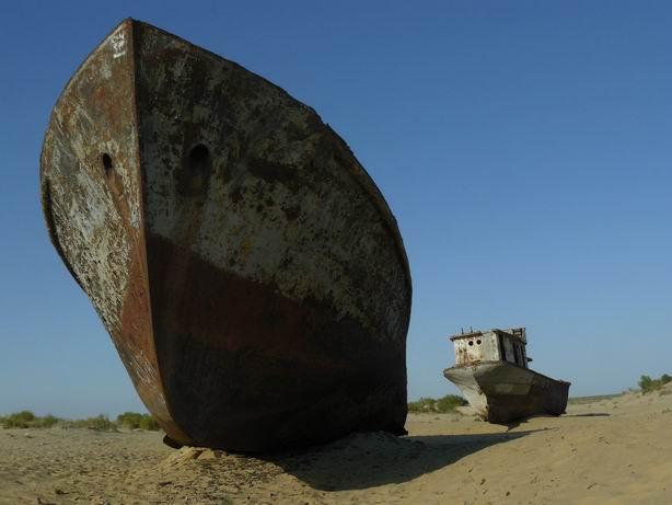 Barcos en Moynaq