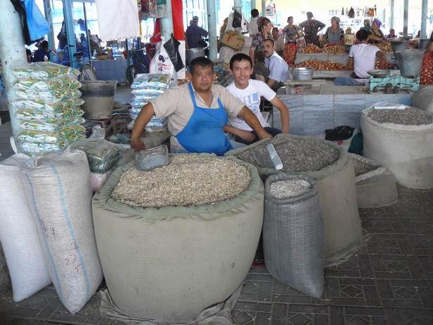 Bolsa de pipas a la uzbeca