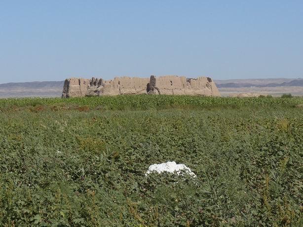 Castillos de algodón y de barro