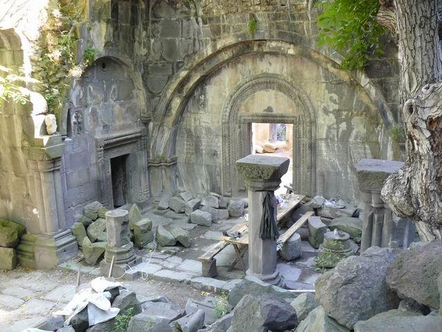 Ruinas del monasterio de Kobayr