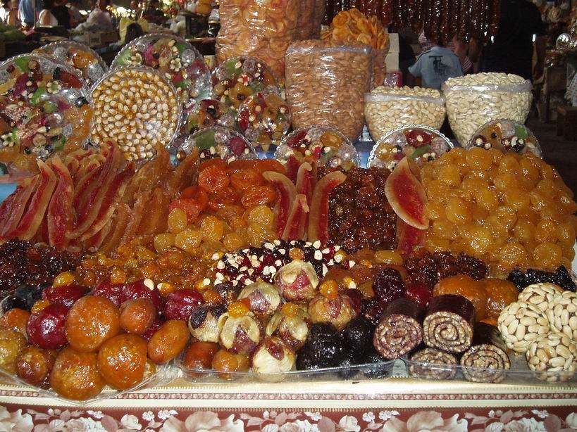Surtido de frutas secas