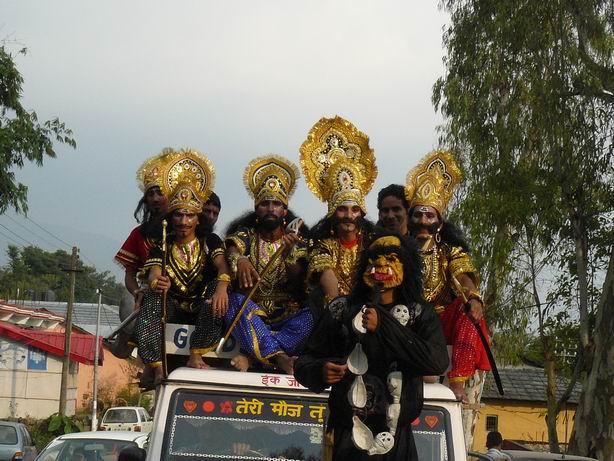 Enésimo festival hindú, Daramsala