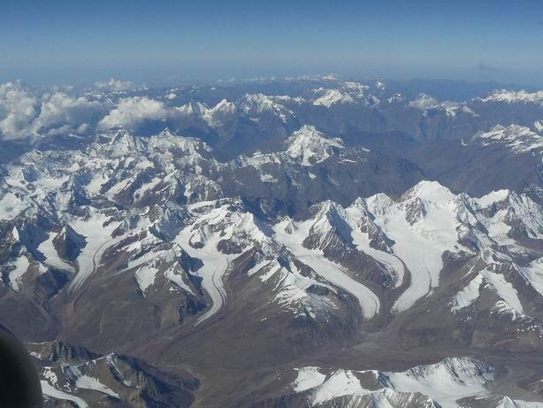 Himalaya desde el aire