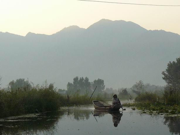 Lago de Srinagar