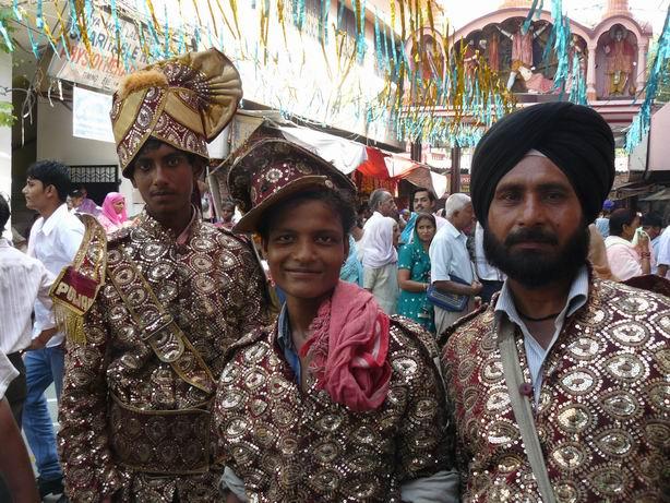 Músicos en Jammu