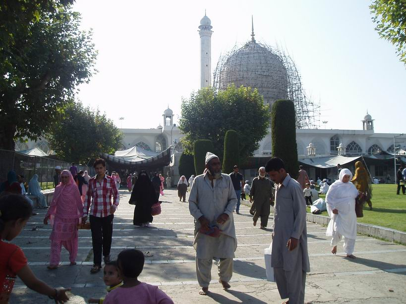 Mezquita Hazratbal, Srinagar