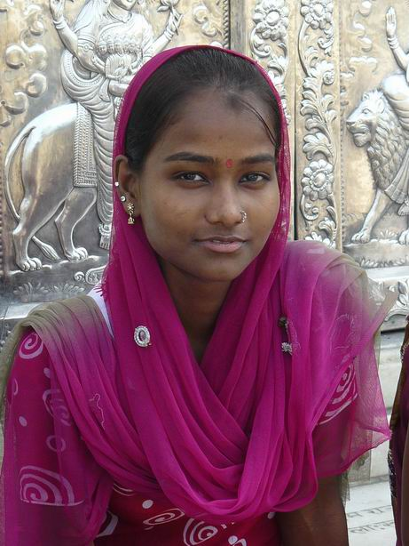 Muchacha en Amritsar