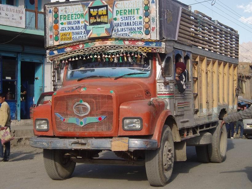 Tipico camion indio