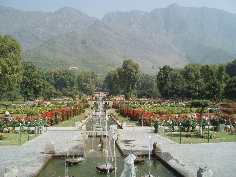Jardines de Srinagar