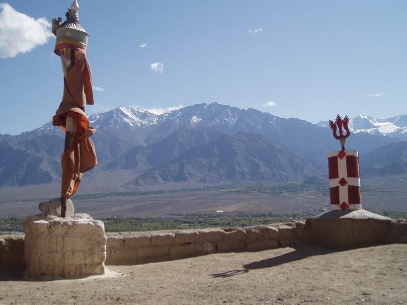 Picos nevados del Himalaya