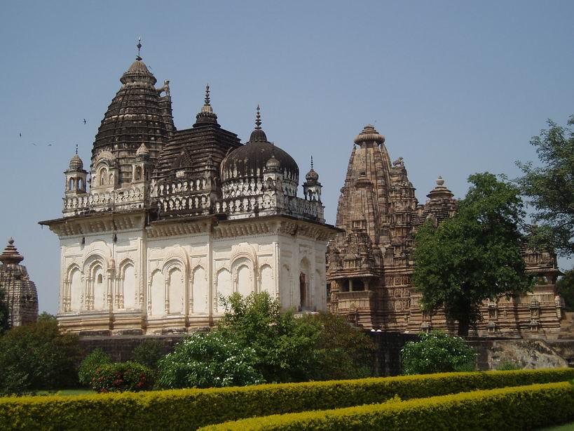 Templos en Khajuraho