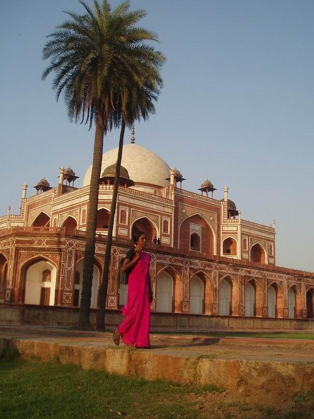 Tumba de Humayun.Delhi