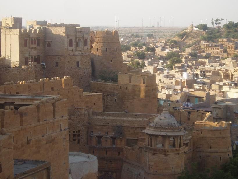 Vista de Jaisalmer desde su fuerte