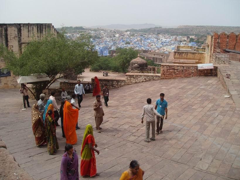 Vista de Jodhpur desde su fuerte