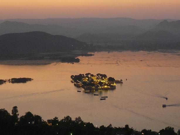 Atardecer en Udaipur
