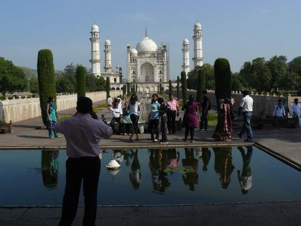 Bibi-qa-maqbara . Pequeño Taj Mahal en Aurangabad