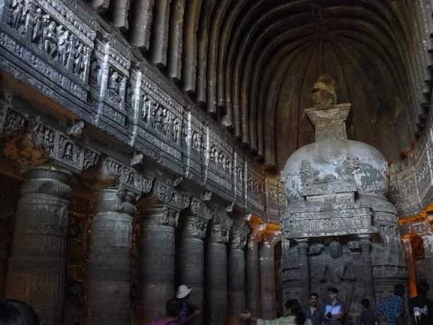 Cueva budista 26 de Ajanta