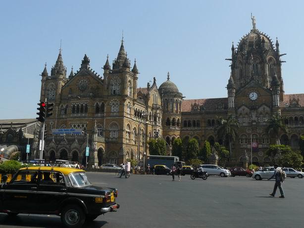 Estación de Victoria en Mumbai