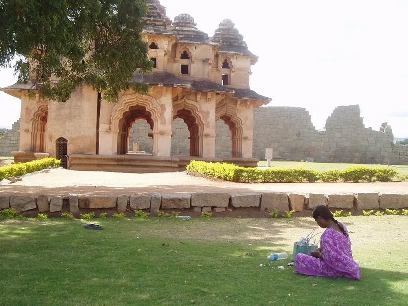 Palacio del Loto en la Zenana de Hampi