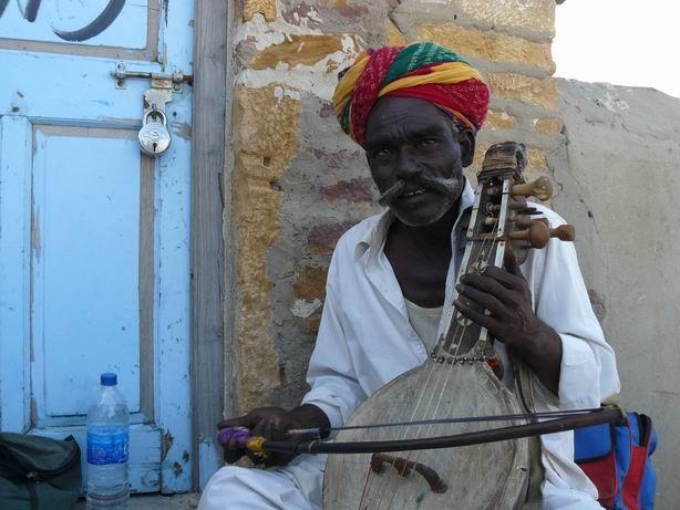 Músico de Rajasthan