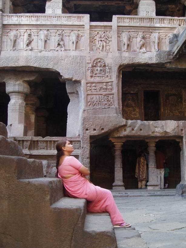 Templo Jainista. Ellora