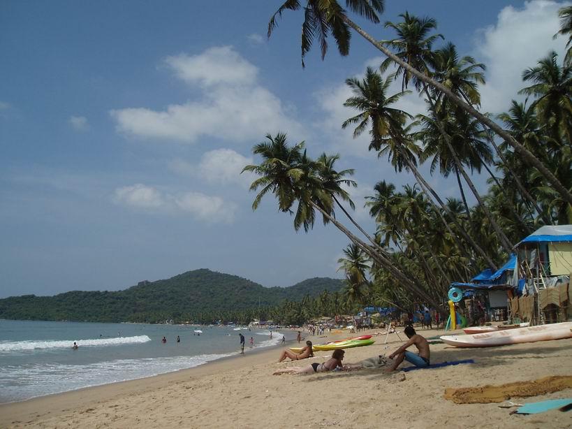 Playa de Palolem. Goa