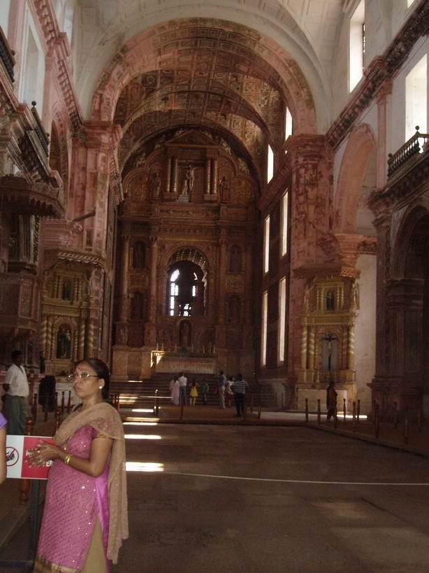 Iglesia portuguesa de Goa